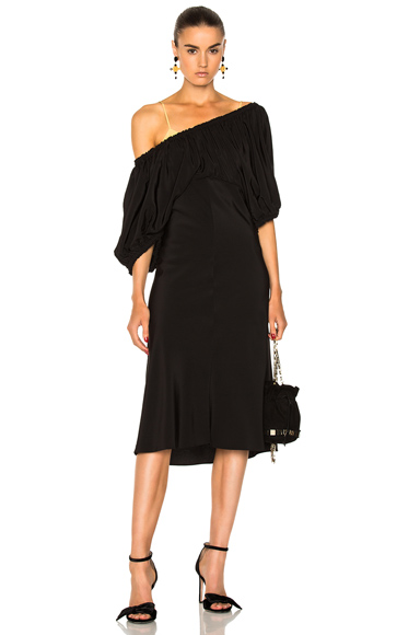 Tibi Sophia Dress in Black