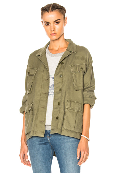Photo of The Great Commander Jacket in Green online womens jacket sales