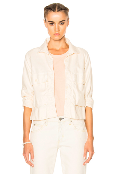 The Great Swingy Army Jacket in Neutrals