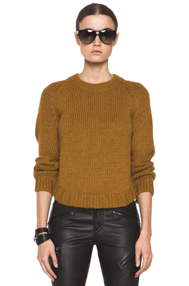 THEYSKENS' THEORY | Knop Yourney Sweater in Mustard