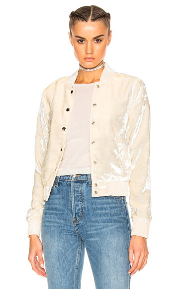 ThePerfext for FWRD Ashley Bomber Jacket in White