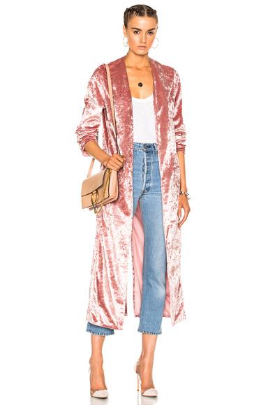 ThePerfext Selena Coat in Pink