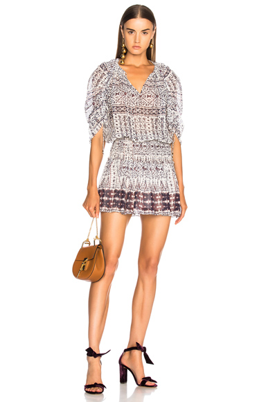 Ulla Johnson Nour Dress in Abstract, White