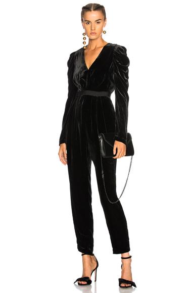 Ulla Johnson Sabine Jumpsuit in Black