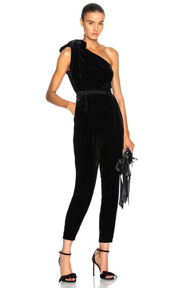 Ulla Johnson Tess Jumpsuit in Black
