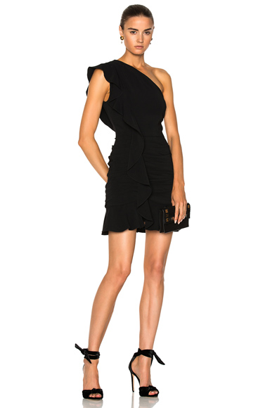 Veronica Beard Kingston Dress in Black