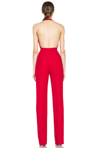 Womens Red Jumpsuit
