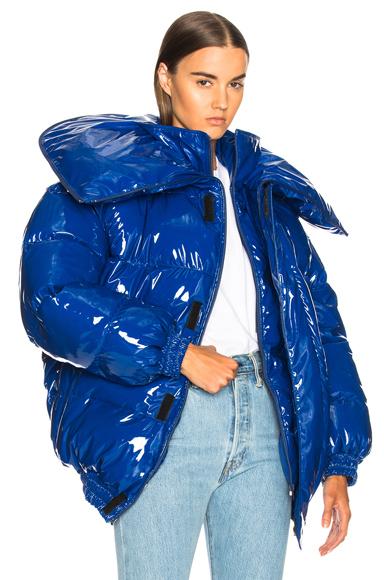 VETEMENTS Puffer Jacket in Blue