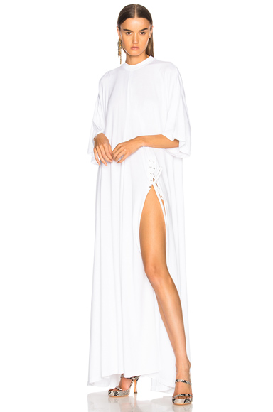Y Project Shirt Dress in White