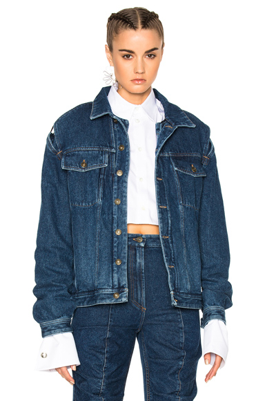 Y Project Jacket in Blue
