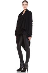 Lars Andersson Tail Coat Wrap in Black   FWRD [3]