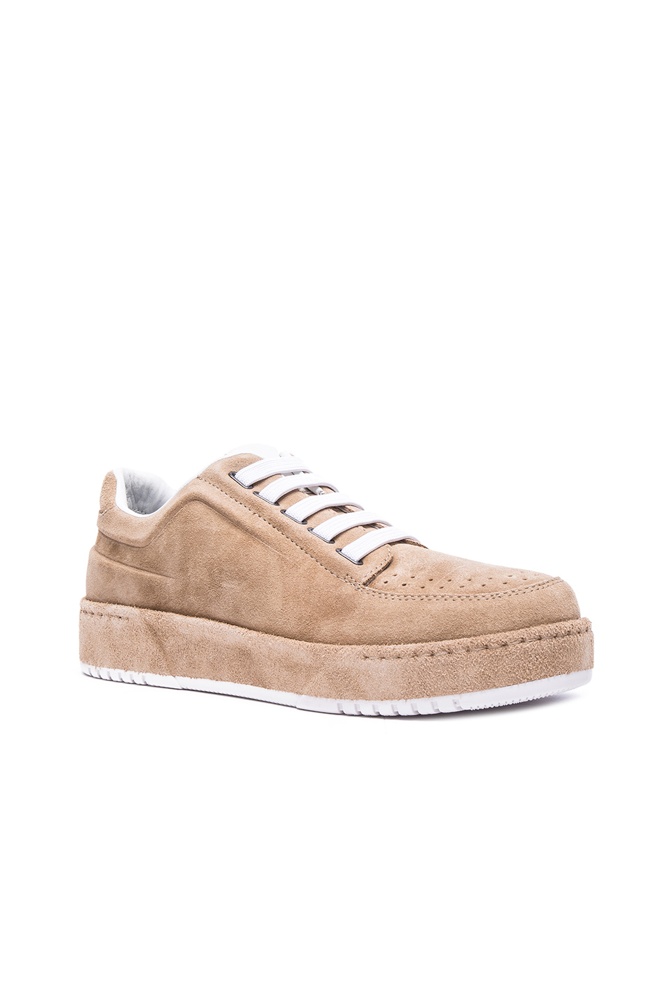 3.1 phillip lim PL31 Low Top Suede Sneakers in Neutrals