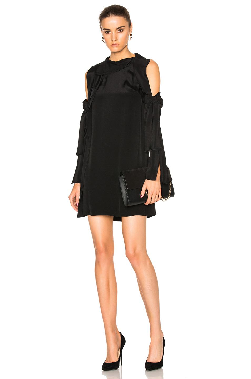 3.1 phillip lim Cold Shoulder Dress in Black