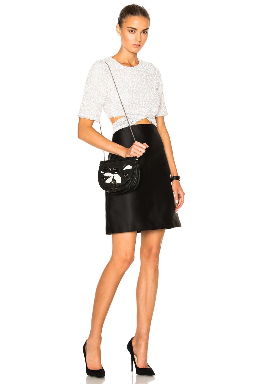 3.1 phillip lim Sequin Dress in White,Black