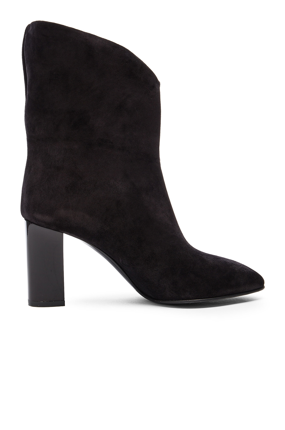 Acne Studios Suede Ava Boots in Black