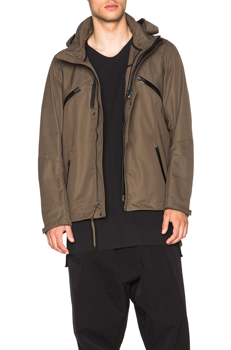 Acronym J1B-S Jacket in Green