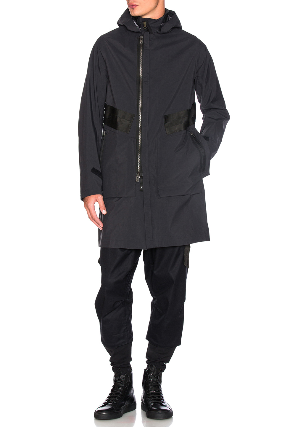 Acronym 3L Gore-Tex Interlops Coat in Black