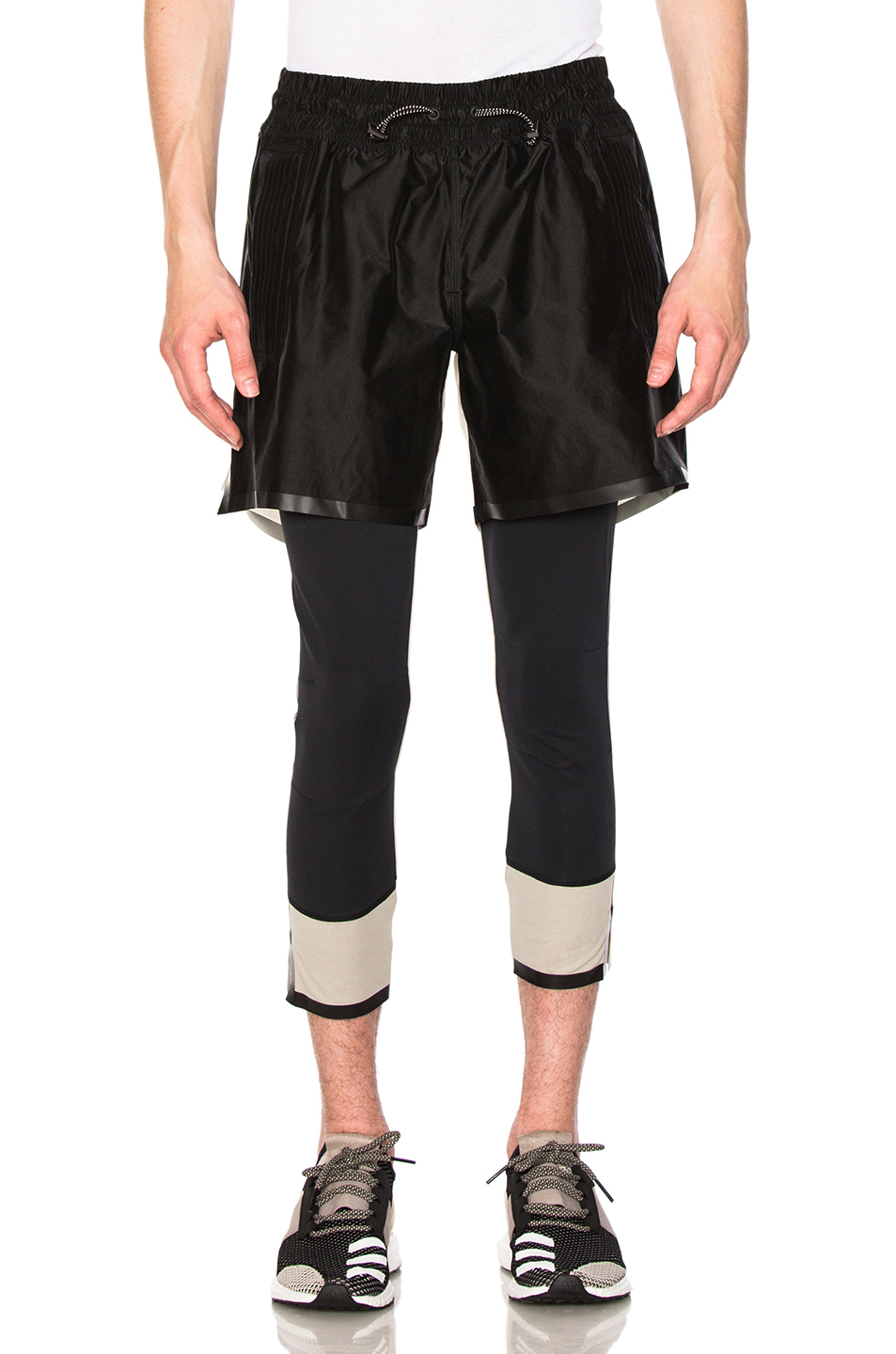 adidas Day One Running Shorts in Black