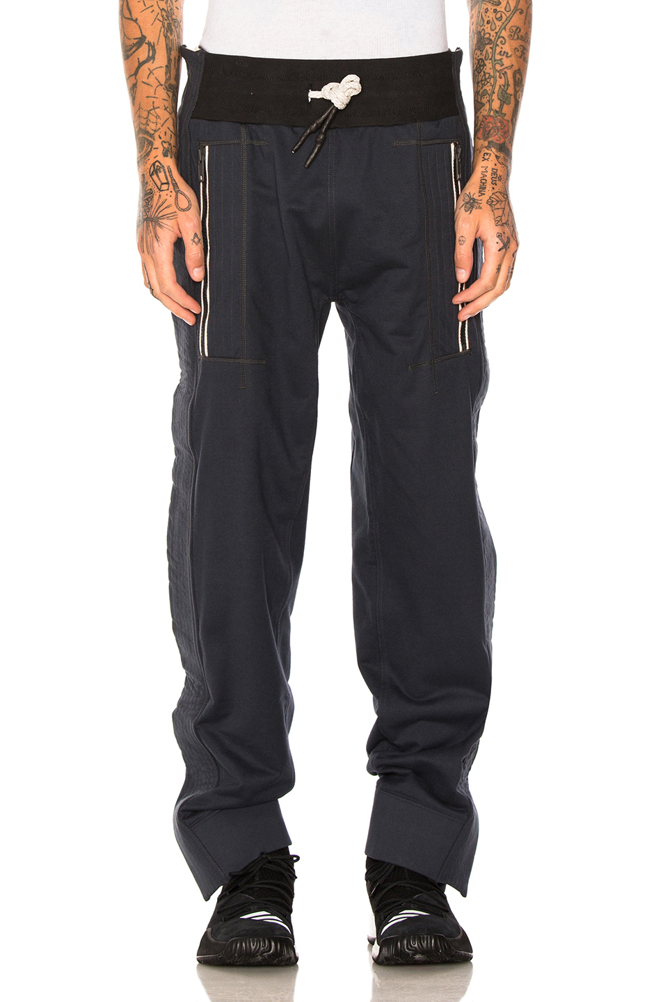 adidas Day One Compact Terry Trackpants in Gray