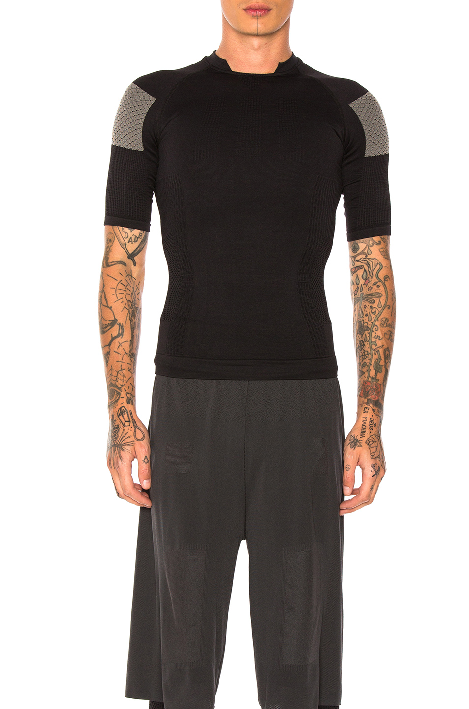 adidas Day One Compression Tee in Black