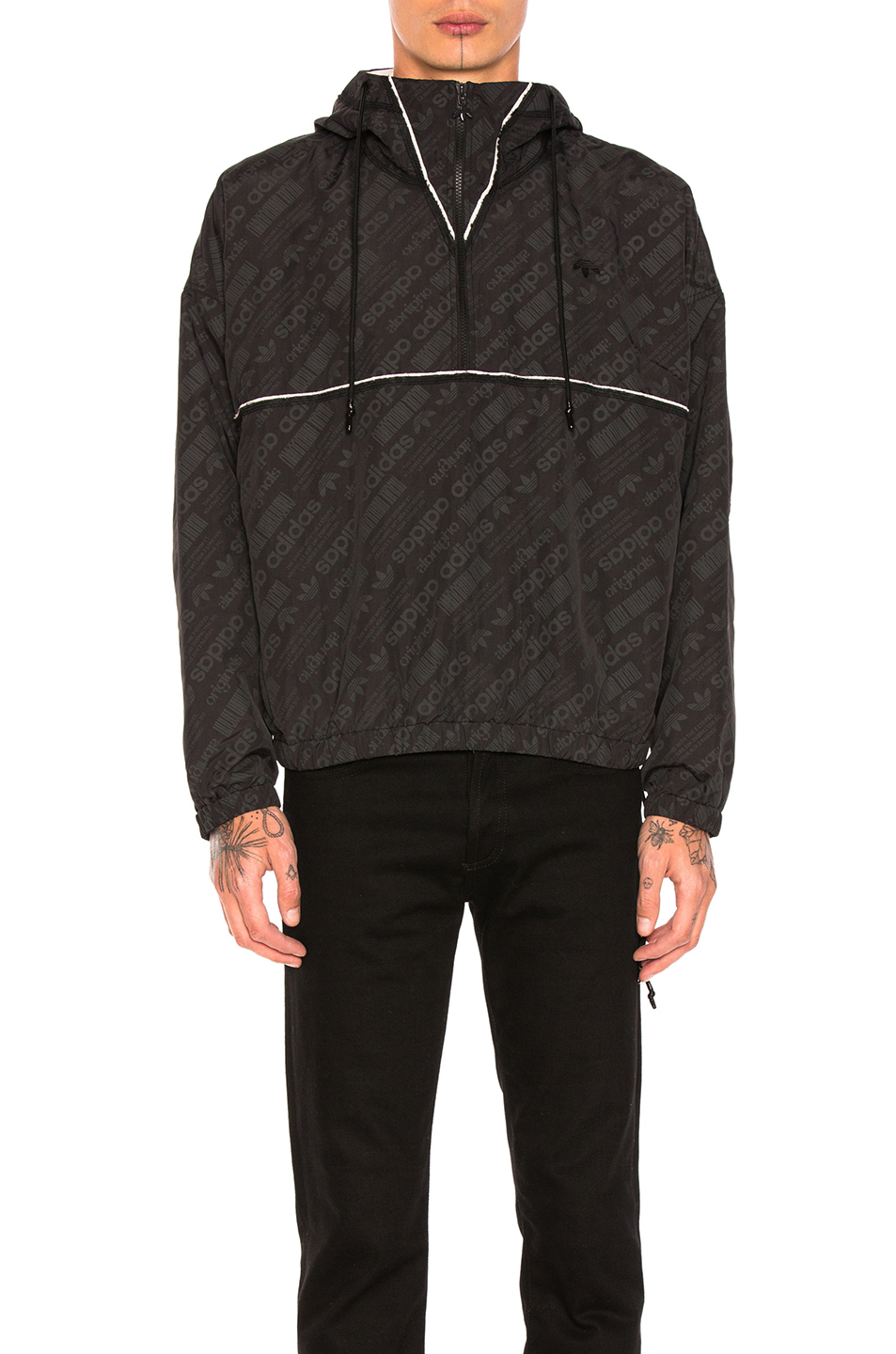 adidas by Alexander Wang Windbreaker in Black