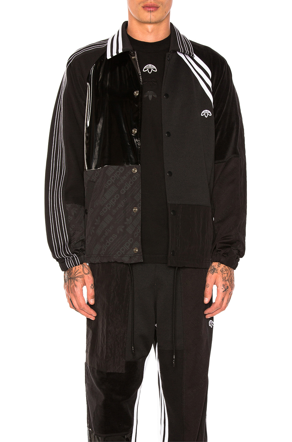 adidas by Alexander Wang Patch Jacket in Black