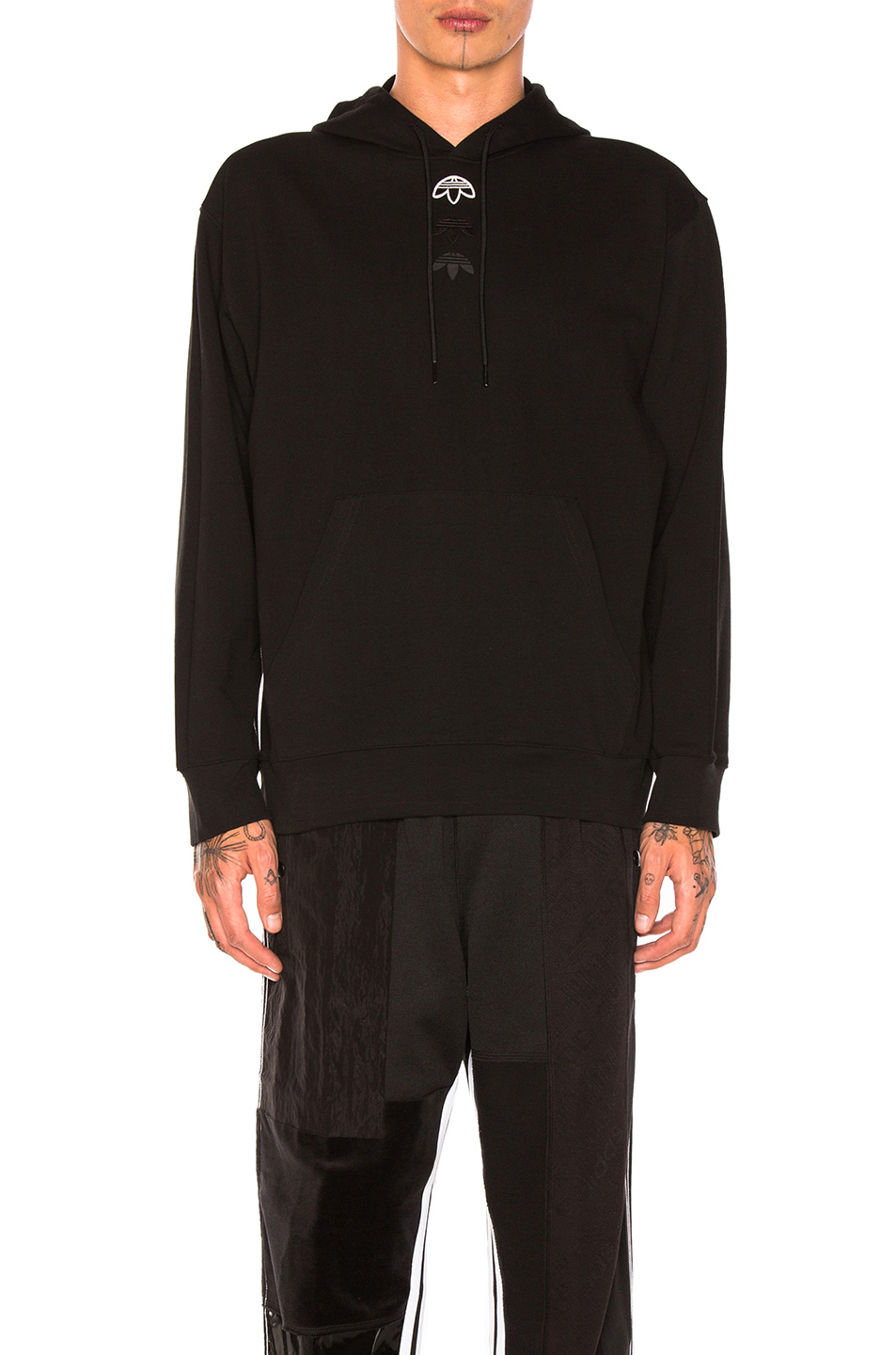 adidas by Alexander Wang Logo Hoody in Black