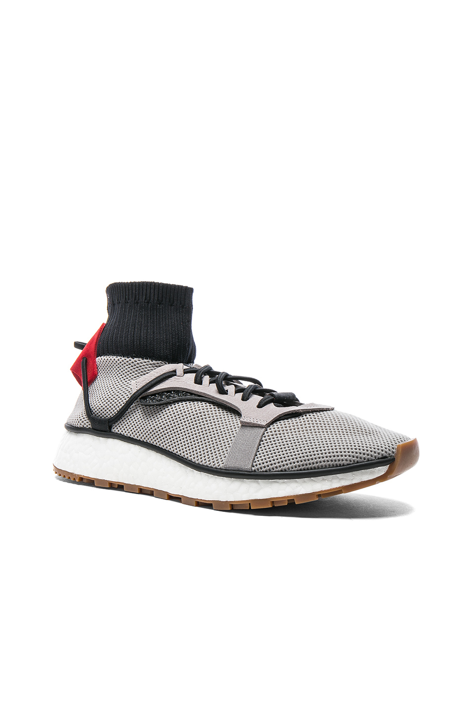 adidas by Alexander Wang Run Sneakers in Gray