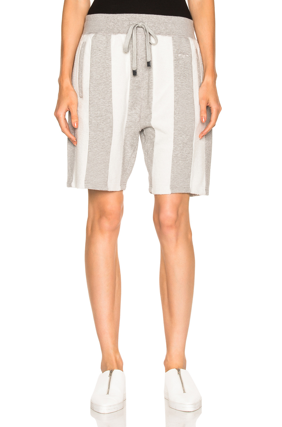 adidas by Alexander Wang Inout Shorts in Gray