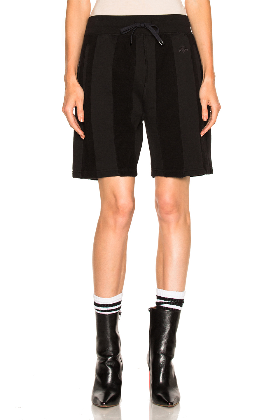 adidas by Alexander Wang Inout Shorts in Black
