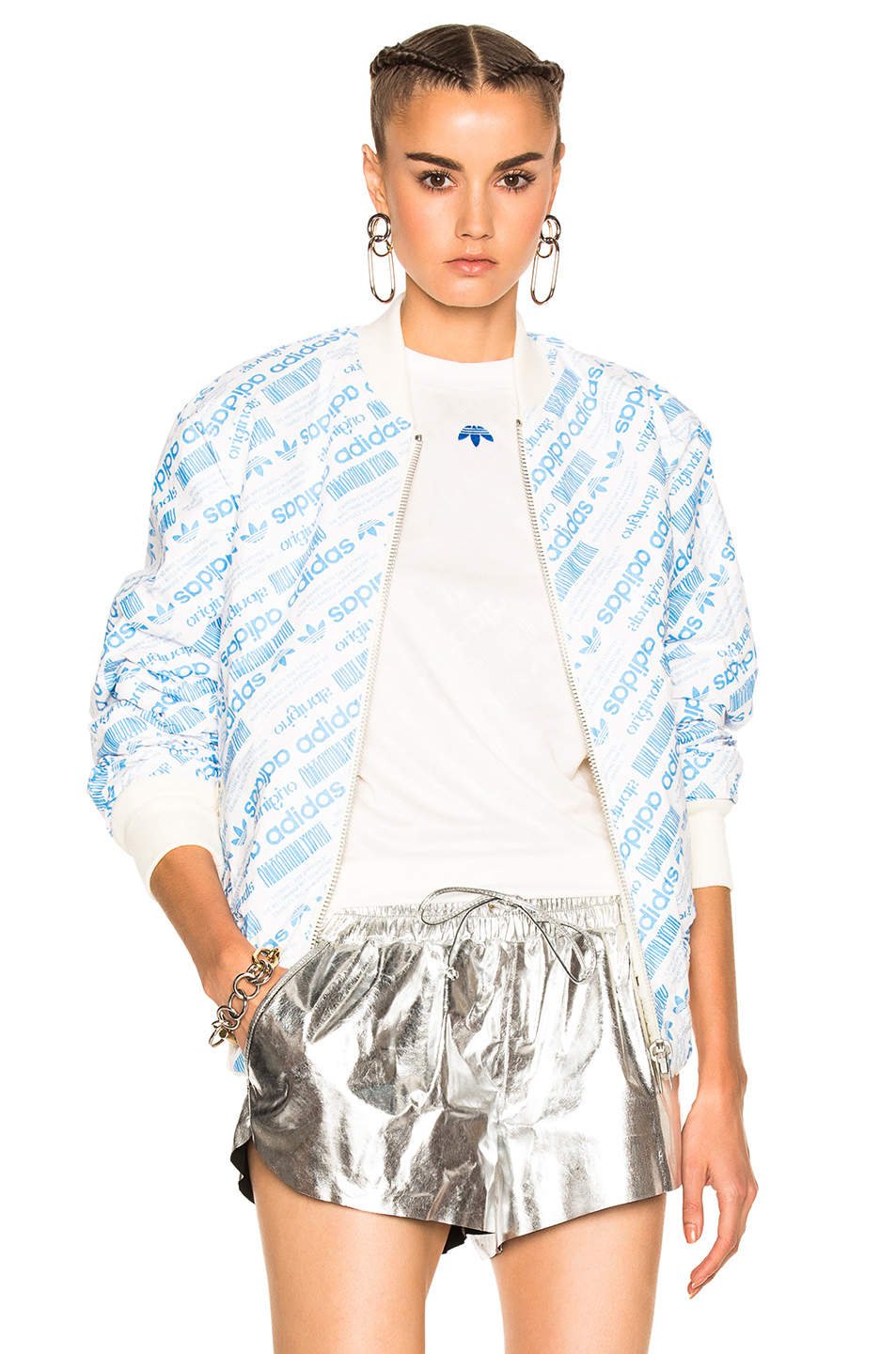 adidas by Alexander Wang Reversible Bomber in White