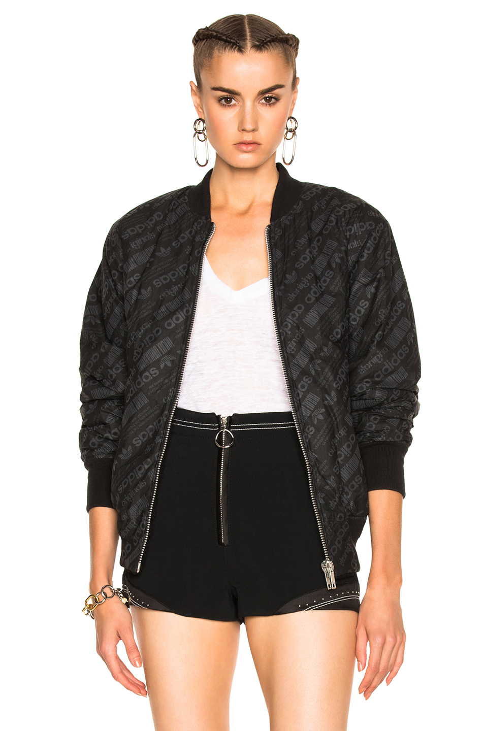 adidas by Alexander Wang Reversible Bomber in Black