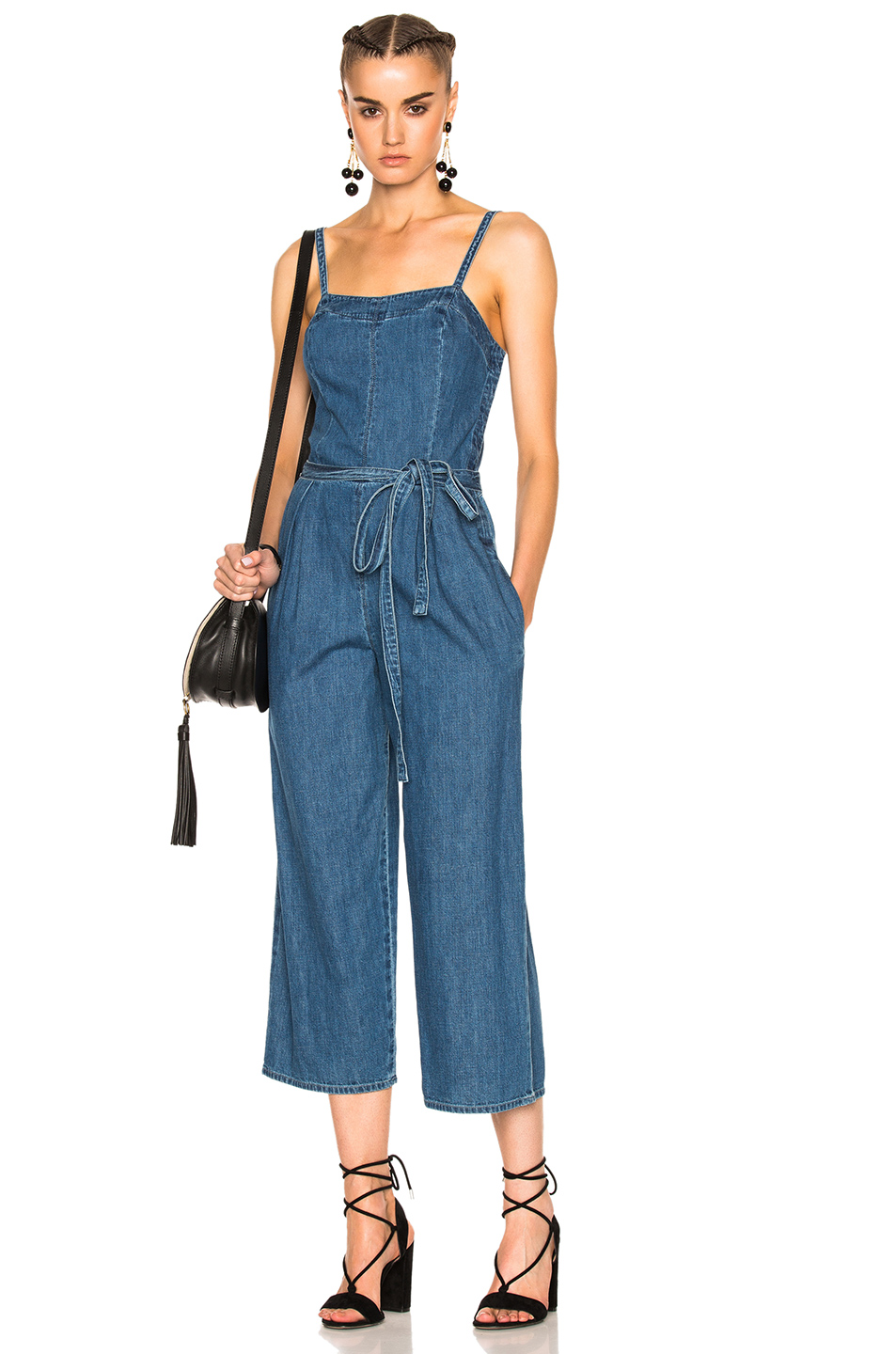 AG Adriano Goldschmied Giselle Jumpsuit in Blue