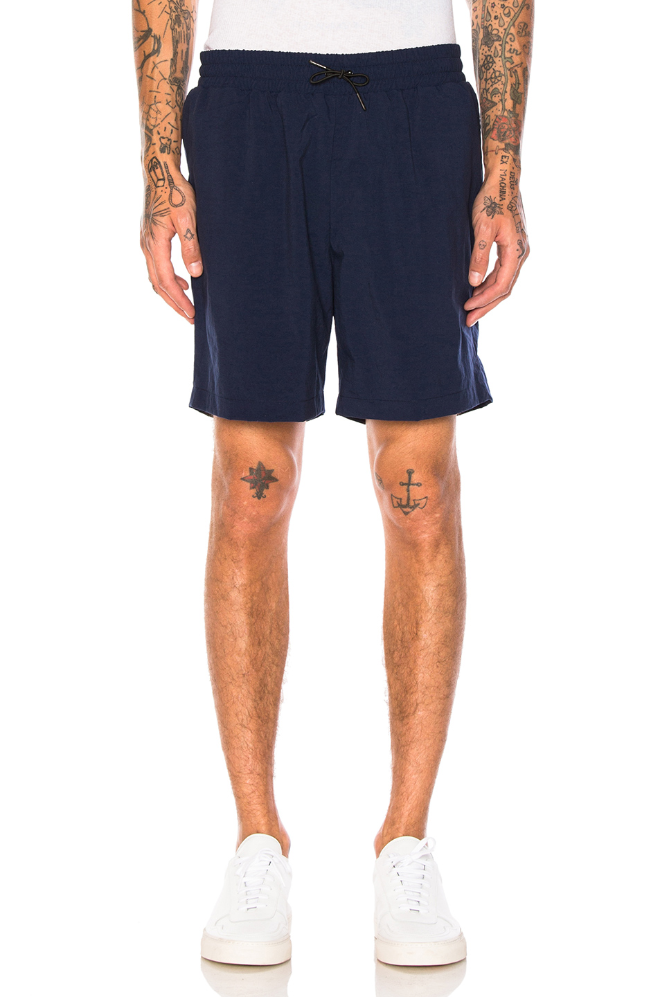 Aime Leon Dore Nylon Shorts in Blue