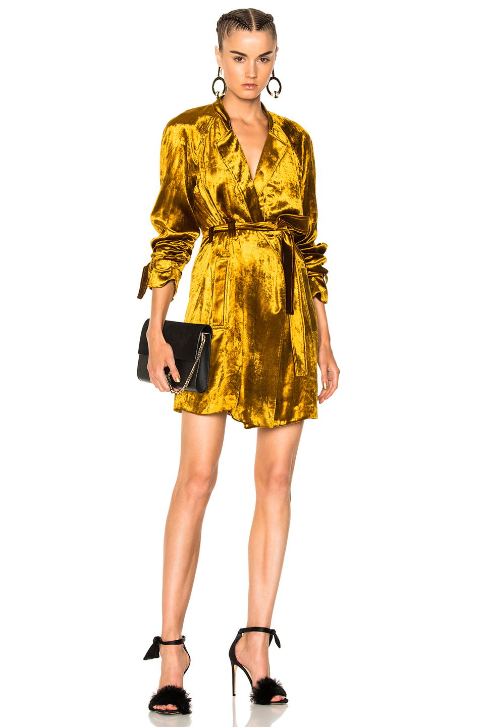 A.L.C. Kendall Dress in Yellow