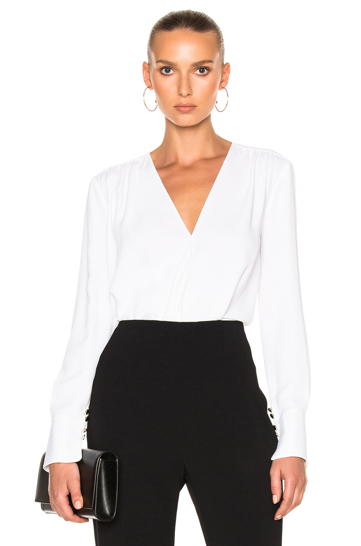 Altuzarra Torrance Bodysuit in White