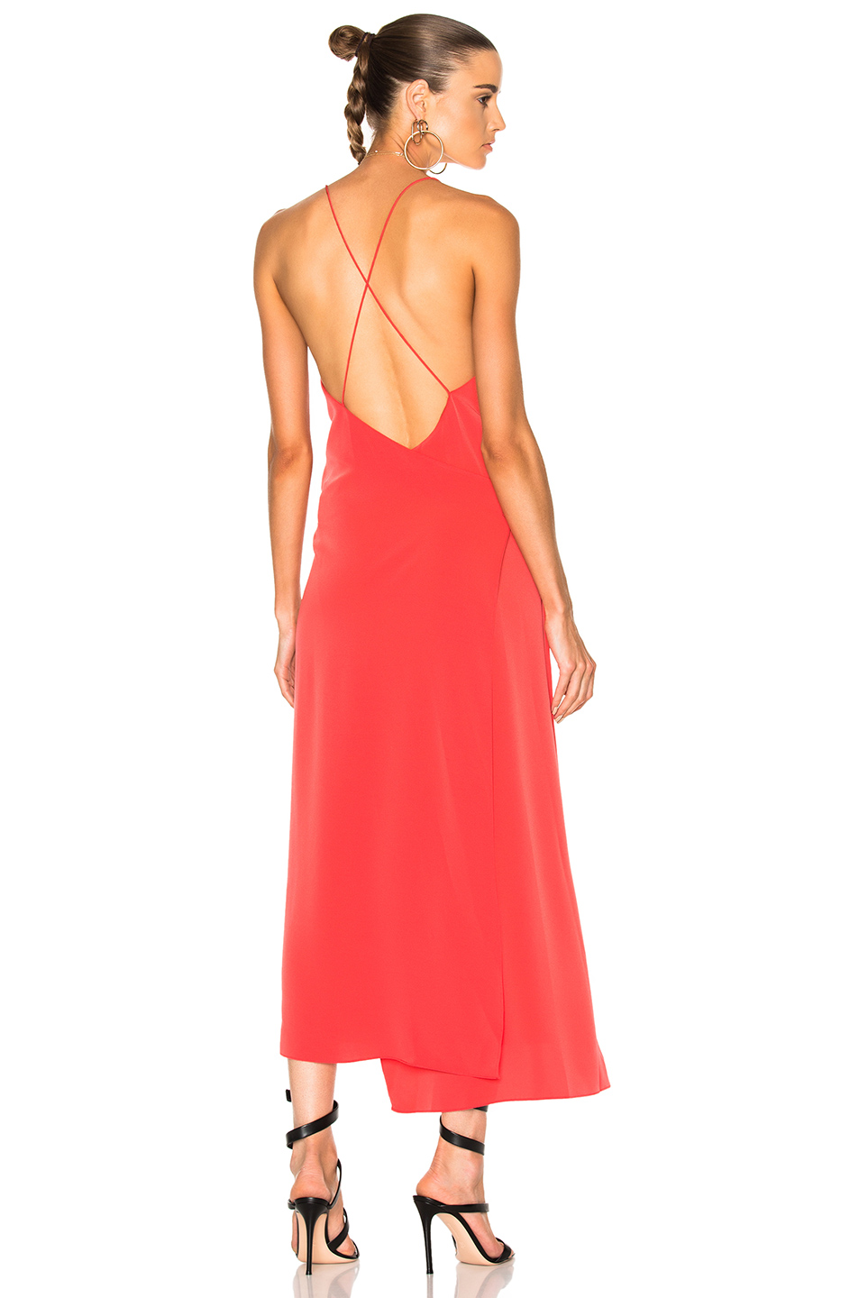 Alexis Analiai Dress in Pink,Red