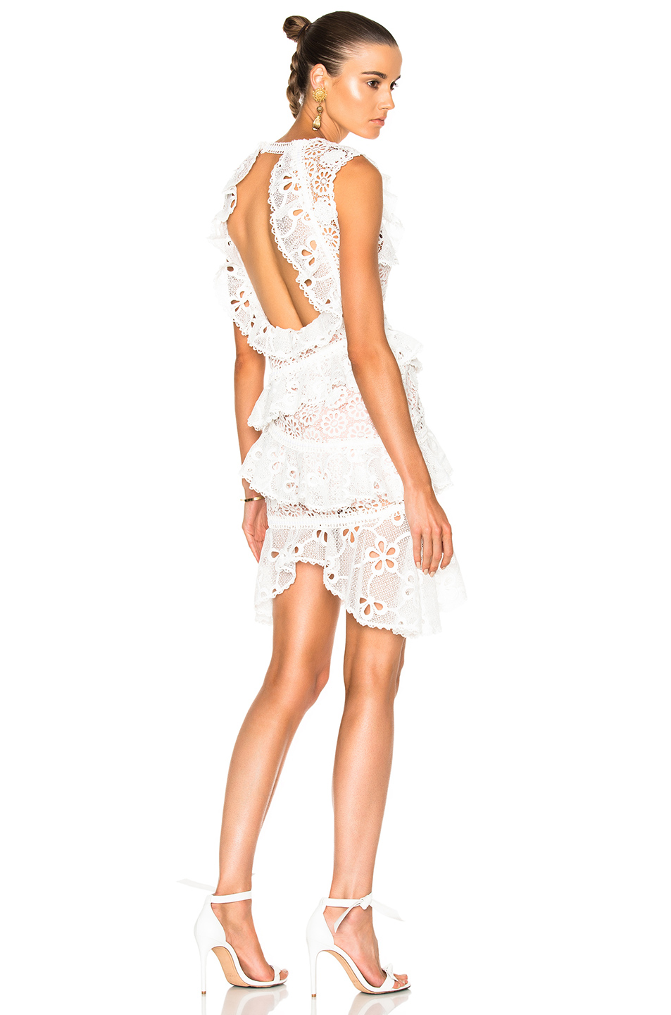 Alexis Arleigh Dress in White