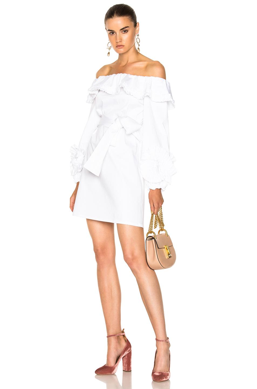 Alexis Miquela Dress in White
