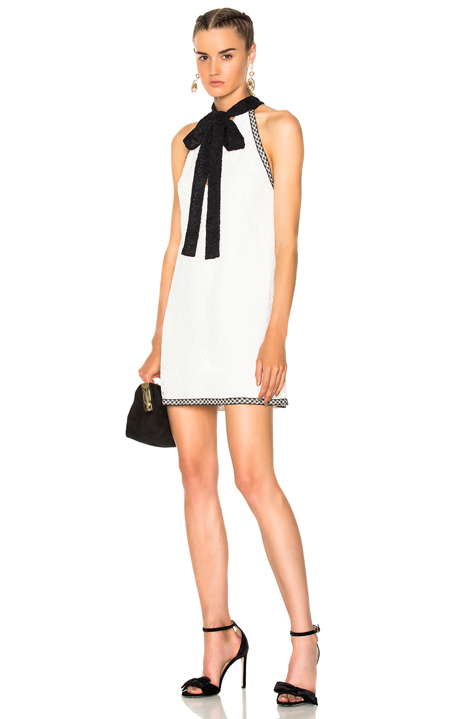 Alexis Genevieve Dress in White