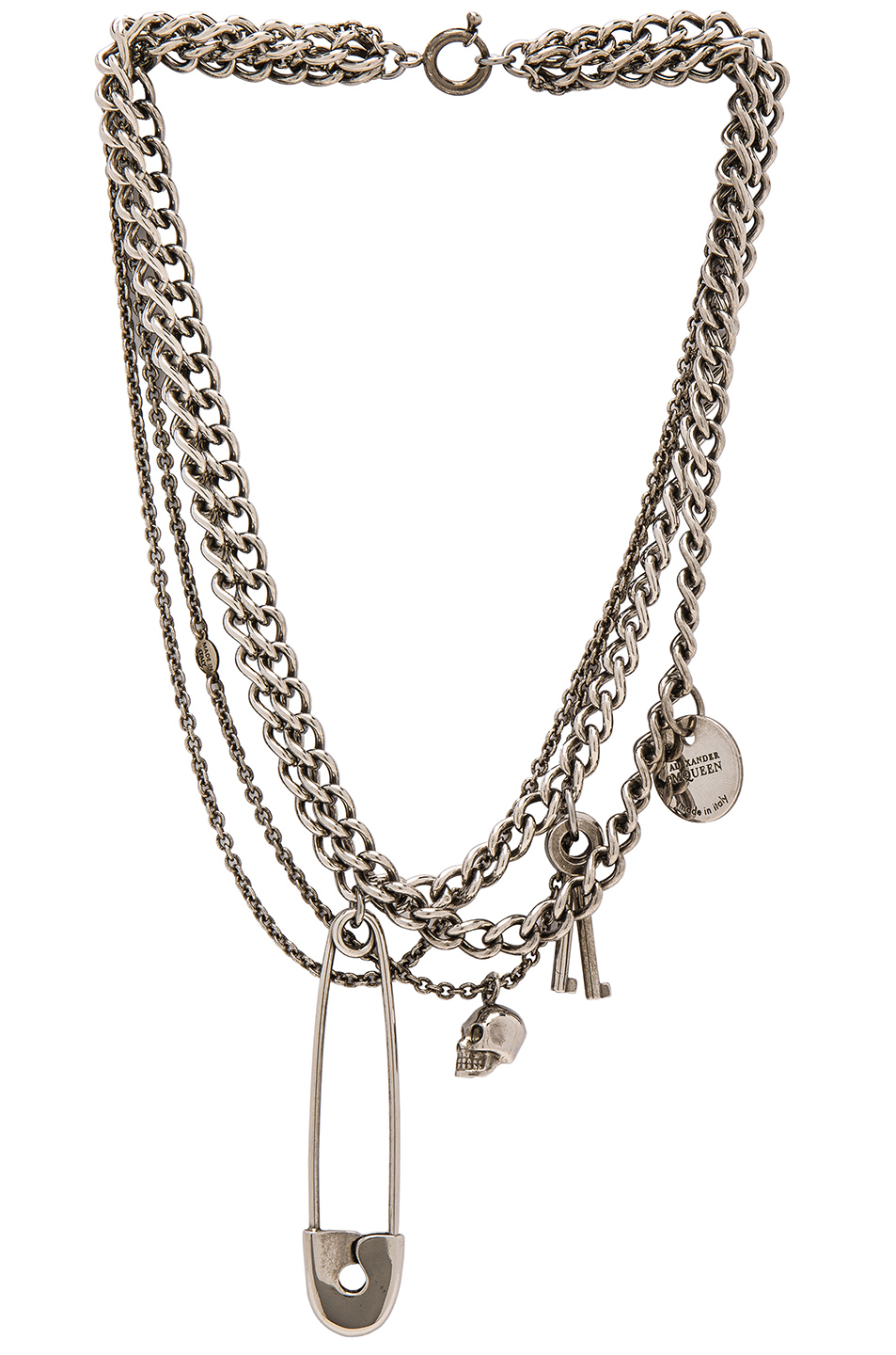 Alexander McQueen Necklace in Metallics