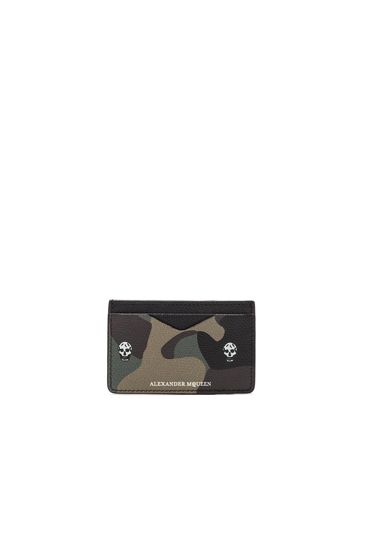 Alexander McQueen Cardholder in Green