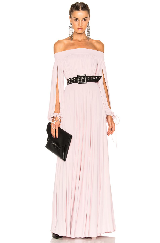 Alexander McQueen Sleeveless Maxi Dress in Pink