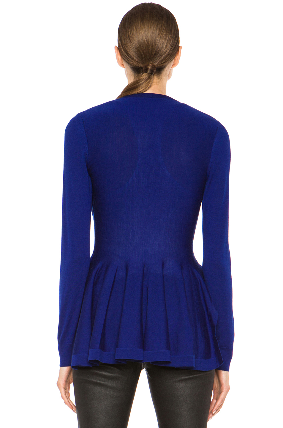 Royal Blue Cardigan Sweater - Cardigan With Buttons