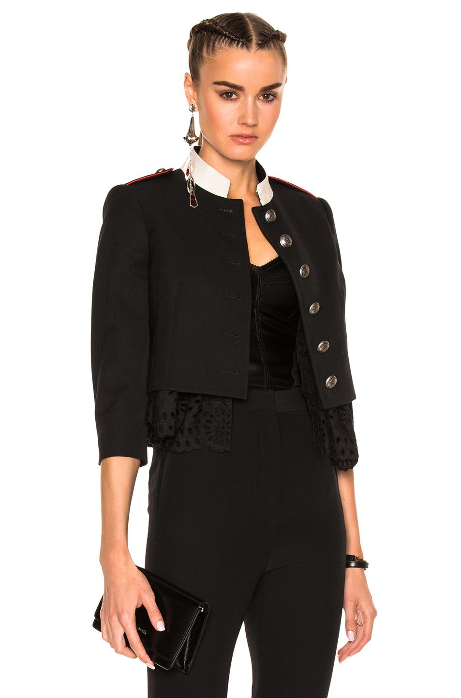 Alexander McQueen Jacket in Black