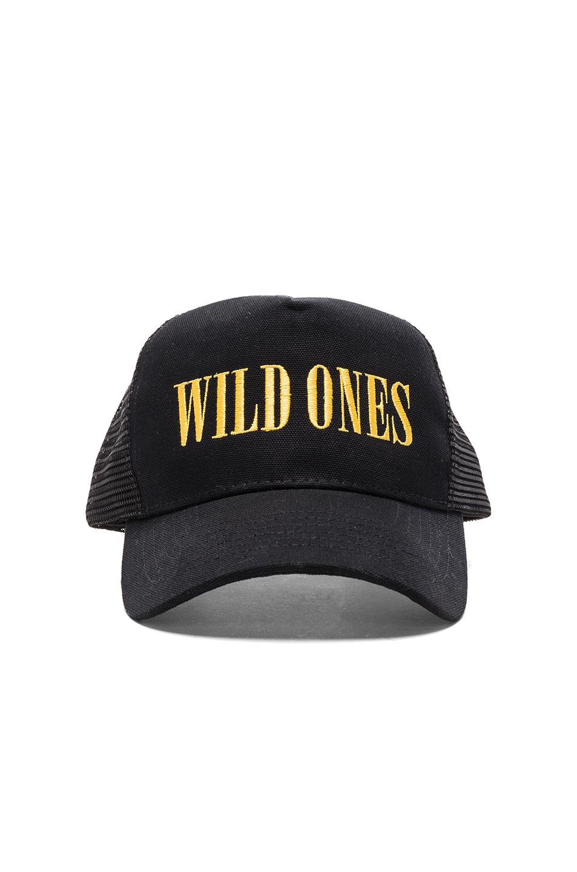 Amiri Wild Ones Trucker Hat in Black