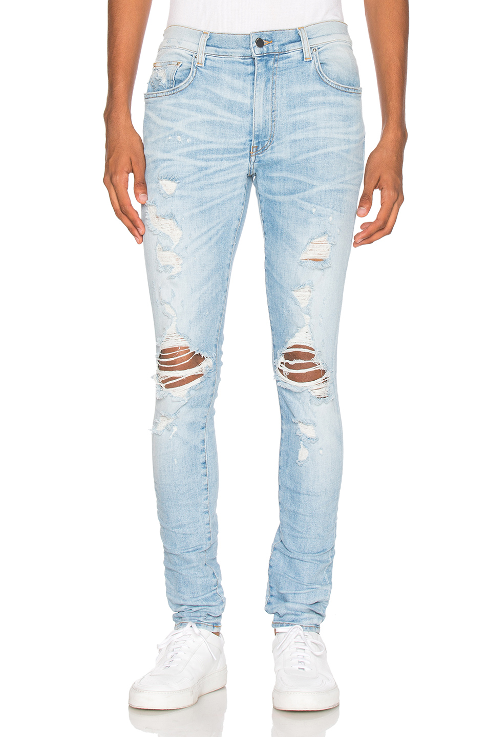 Amiri Thrasher Jeans in Blue