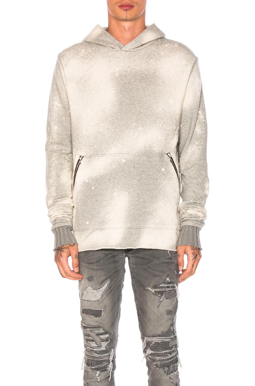 Amiri Shotgun Pullover Hoodie in Gray