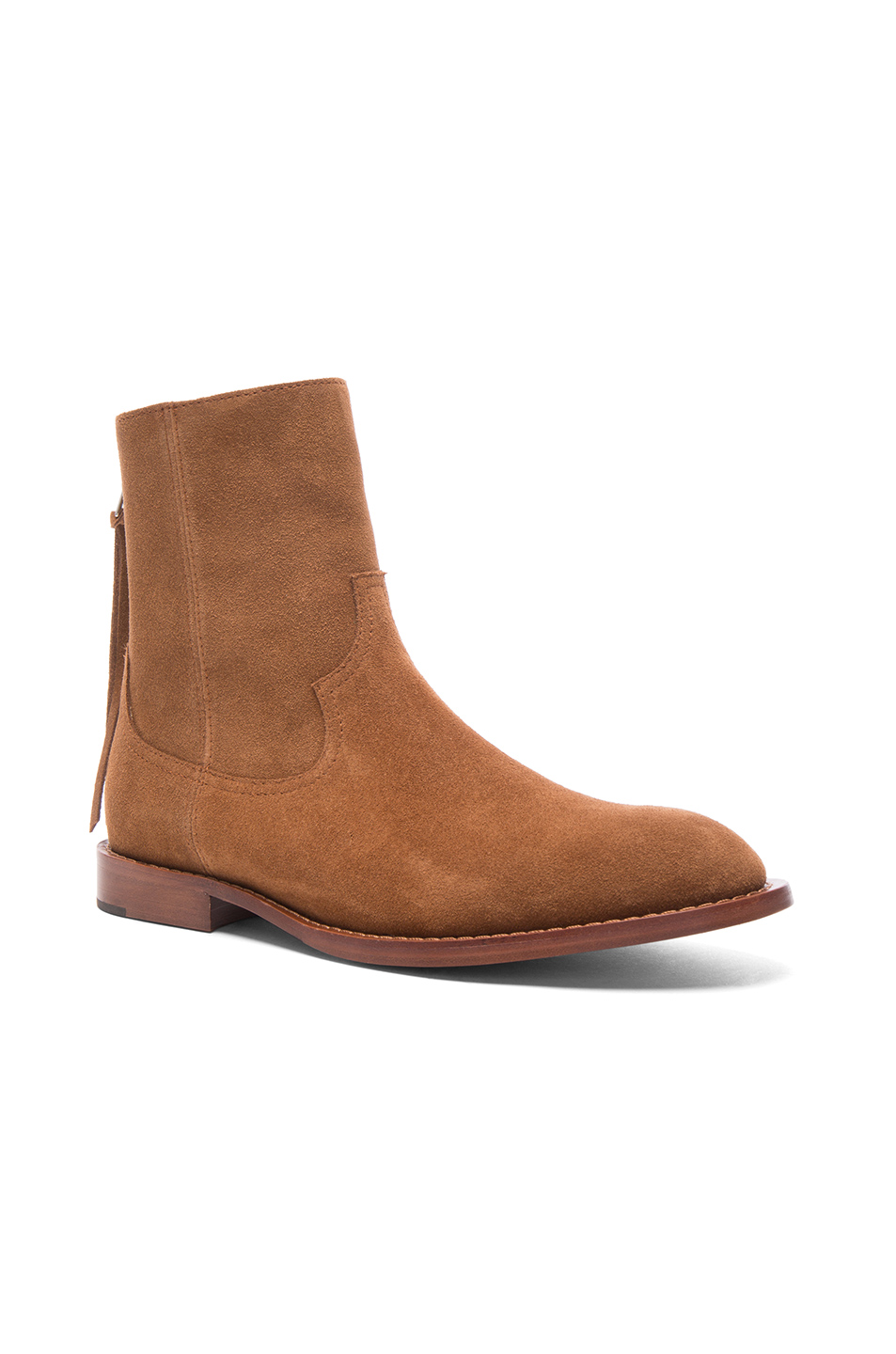 Amiri Suede Shane Boots in Brown