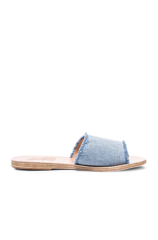 Ancient Greek Sandals Taygete Sandals in Blue